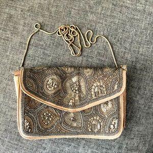 Witchery beautiful beaded clutch/ bag